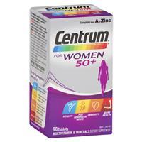 Centrum For Women 50+ 90 Tablets