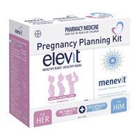 Elevit 100 Tablets & Menevit 30 Capsules Pregnancy Planning Kit
