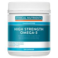 Ethical Nutrients High Strength Omega-3 120 Capsules