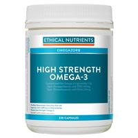 Ethical Nutrients High Strength Omega-3 220 Capsules