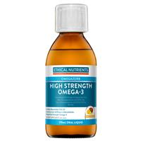 Ethical Nutrients High Strength Omega-3 Liquid (Fruit Punch) 170ml