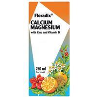 Floradix Calcium Magnesium With Zinc And Vitamin D 250ml