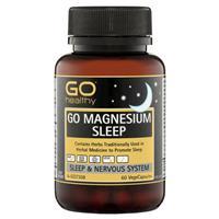 GO Healthy Magnesium Sleep 60 Vege Capsules
