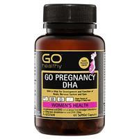 GO Healthy Pregnancy DHA 60 Capsules
