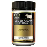 Go Healthy Sheep Placenta 20000mg 100 Soft Capsules Exclusive Size