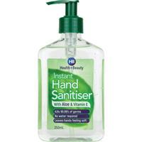 Health & Beauty Hand Sanitiser Pump 350ml