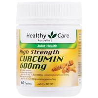 Healthy Care High Strength Curcumin 600mg 60 Tablets