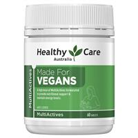 Healthy Care Multi Actives Made for Vegans 60 Tablets