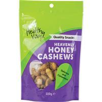Healthy Way Heavenly Honey Cashews 110g
