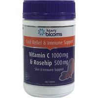 Henry Blooms Vitamin C 1000mg (asorbic acid) + Rosehip 500mg 180 Tablets