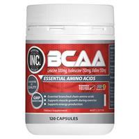 INC BCAA 120 Capsules