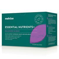 Melrose Essential Nutrients Balanced & Lean 30 x 3g