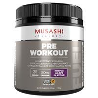 Musashi Pre Workout Purple Grape 225g