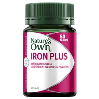 Nature's Own Iron Plus 50 Tablets