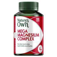 Nature's Own Mega Magnesium Complex 100 Tablets