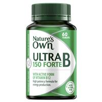 Nature's Own Ultra B 150 Forte – Vitamin B – 60 Tablets