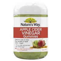 Nature's Way Apple Cider Vinegar 65 Gummies