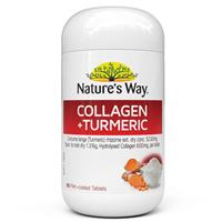 Nature's Way Collagen Plus Turmeric 60 Tablets