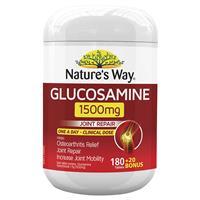 Nature's Way Glucosamine 1500mg 180 + 20 Bonus Tablets
