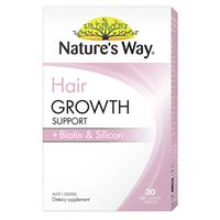 Nature's Way Hair Growth Support + Biotin & Silicon 30 Tablets