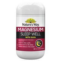 Nature's Way Magnesium Sleep Well 60 Tablets