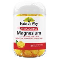 Nature's Way Vita Gummies Adult Magnesium 80 Gummies