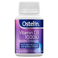 Ostelin Vitamin D3 1000IU – Vitamin D – 130 Capsules