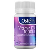 Ostelin Vitamin D3 1000IU – Vitamin D – 60 Capsules
