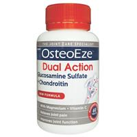 OsteoEze Dual Action Glucosamine Sulfate + Chondroitin 60 Tablets