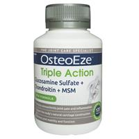 OsteoEze Triple Action Glucosamine Sulfate + Chondroitin + MSM 120 Tablets