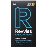 Revvies Energy Strips Arctic Charge 5 Pack