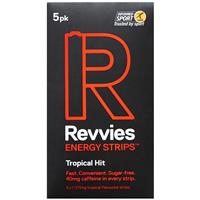 Revvies Energy Strips Tropical Hit 5 Pack