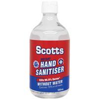 Scotts Aloe Hand Sanitiser 500ml