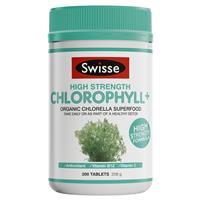 Swisse Chlorophyll+ 1000mg 200 Tablets