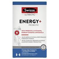 Swisse Ultibiotic Energy + Probiotic 30 Capsules + 30 Tablets