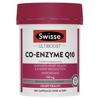 Swisse Ultiboost Co Enzyme Q10 150mg 180 Capsules