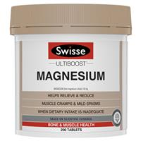 Swisse Ultiboost Magnesium 200 Tablets