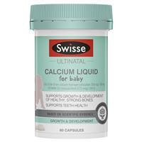 Swisse Ultinatal Calcium Liquid For Baby 60 Capsules