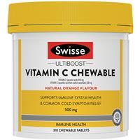 Swisse Vitamin C 500mg 310 Chewable Tablets