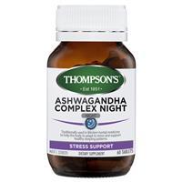 Thompsons Ashwagandha Complex Night 60 Tablets