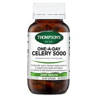 Thompson's One-a-day Celery Seed 5000mg 60 Capsules