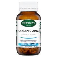 Thompson's Organic Zinc 180 Tablets