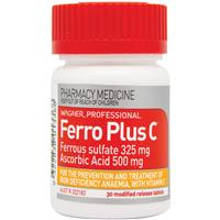 Wagner Professional Ferro Plus C 30 Modified Release Tablets