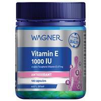 Wagner Vitamin E 1000IU 100 Capsules